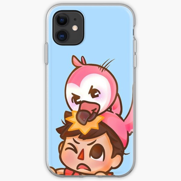 AlbertsStuff Flamingo iPhone Soft Case