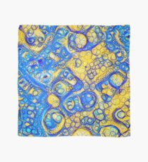 Yellow and Blue abstraction Scarf