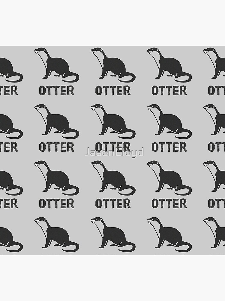 Otter (Graphic) by JasonLloyd