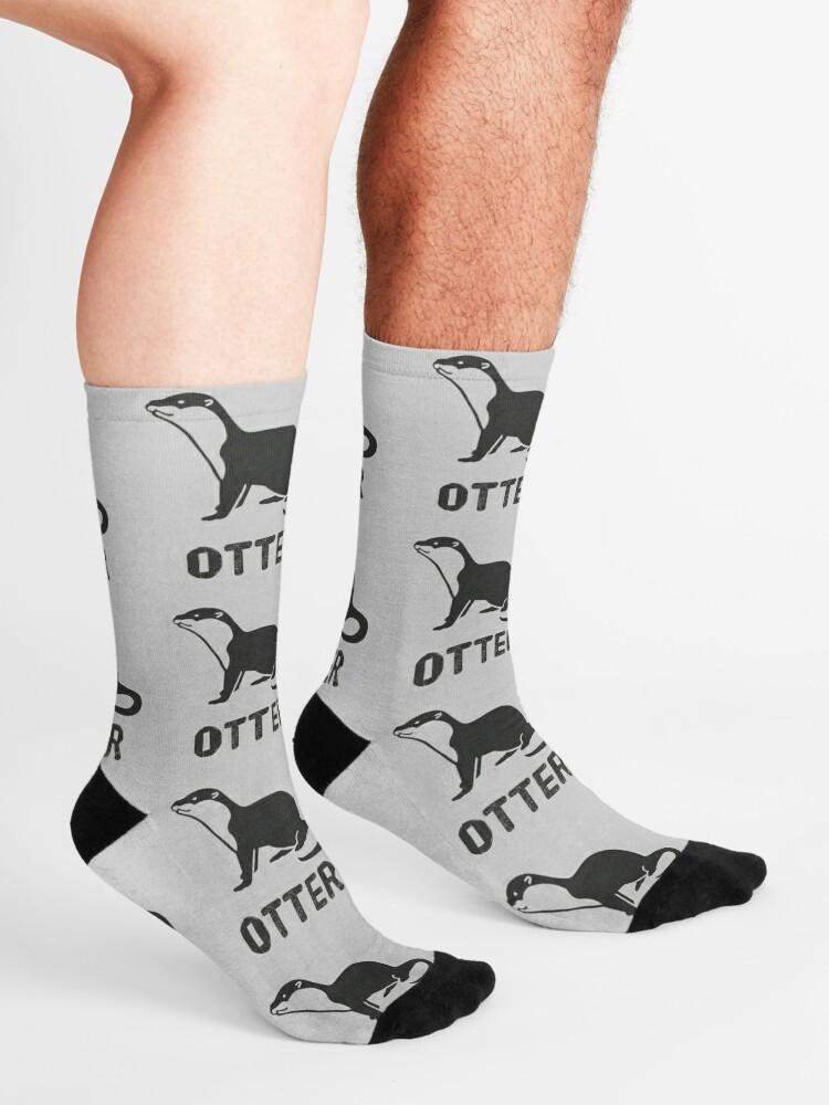 Alternate view of Otter (Graphic) Socks
