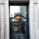 Reflected Door by CallinoisArt