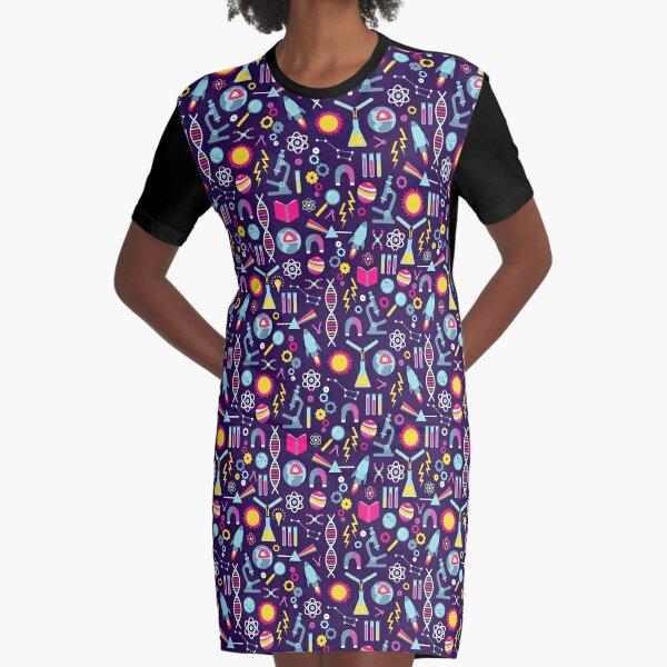 Science Studies Graphic T-Shirt Dress