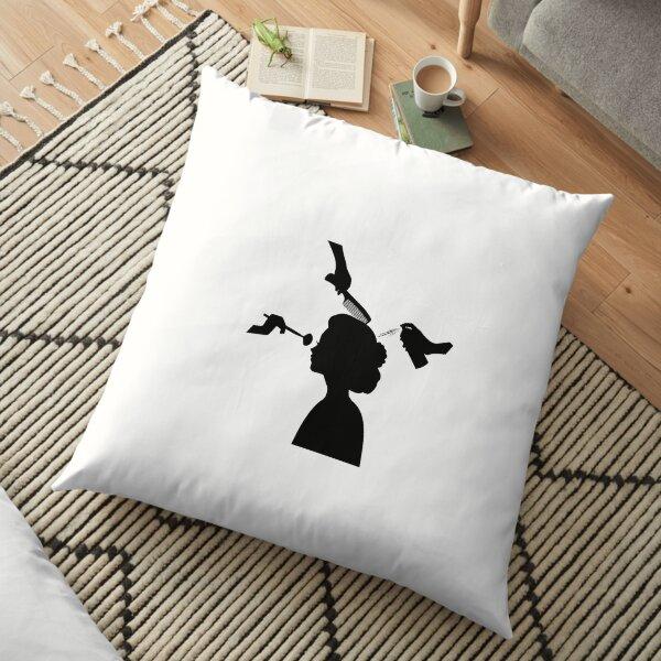 Beauty 4 Floor Pillow
