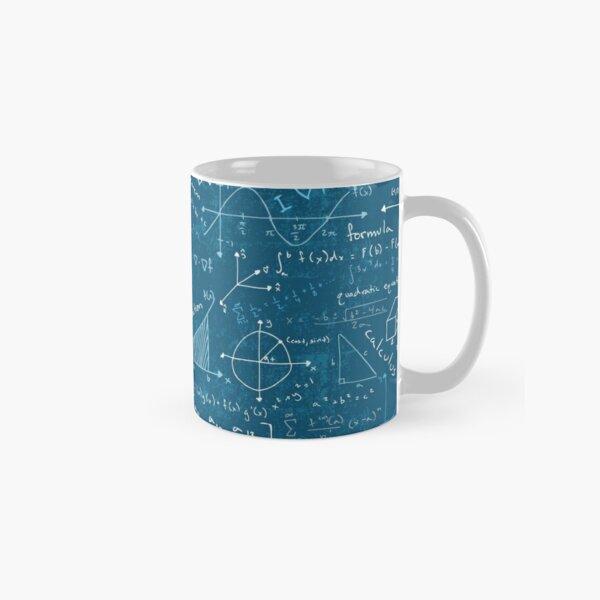 Math Lessons (Teal) Classic Mug