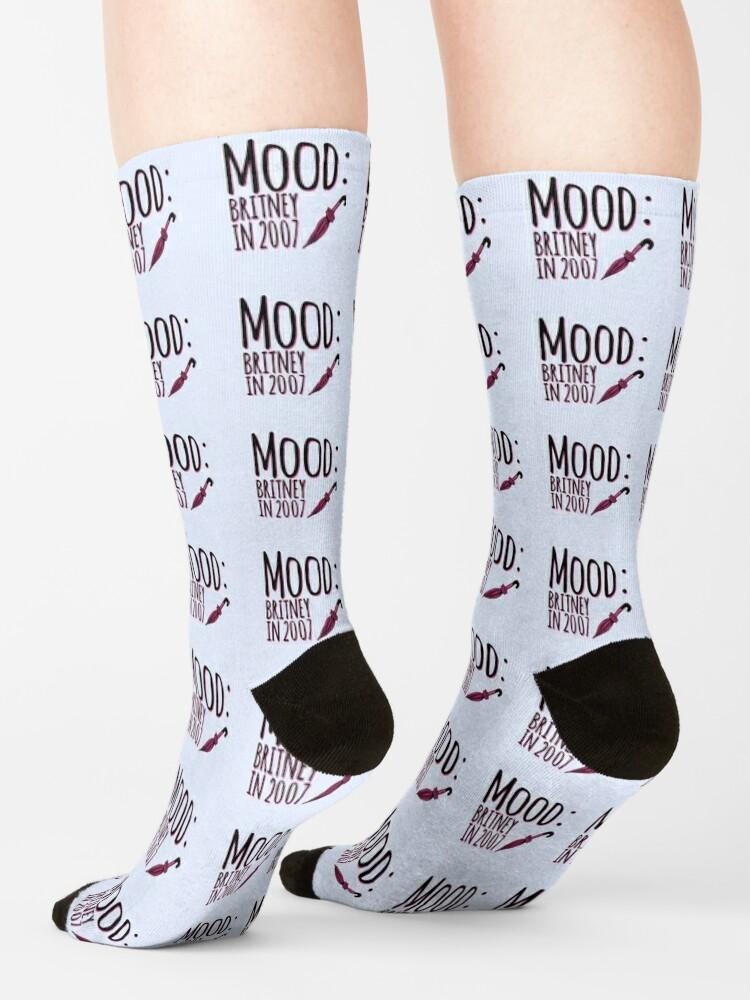 Alternate view of Mood (Britney) Socks