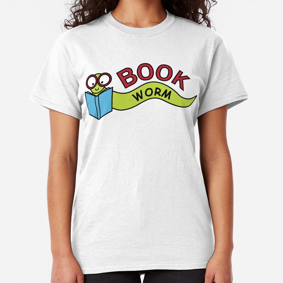 Book Worm Classic T-Shirt