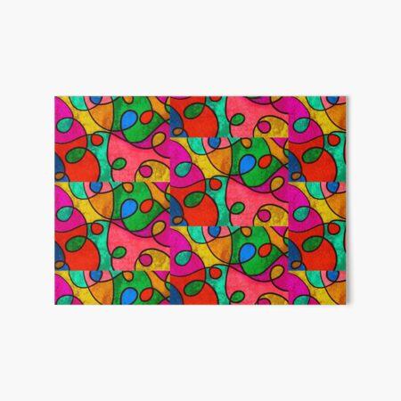 Colorful World Galeriedruck