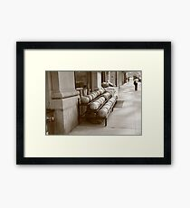 New York City Market Framed Print