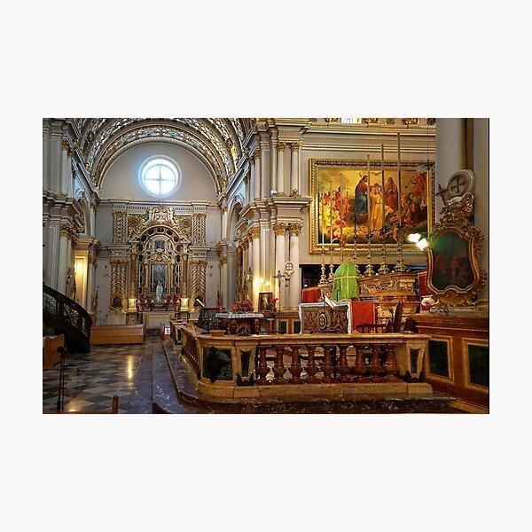 Naxxar Parish Church Malta 1630 A.D. Photographic Print