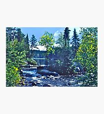 Rushing River Provincial Park II Photographic Print