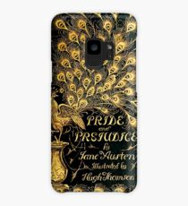Pride and Prejudice Jane Austen Peacock cover Case/Skin for Samsung Galaxy