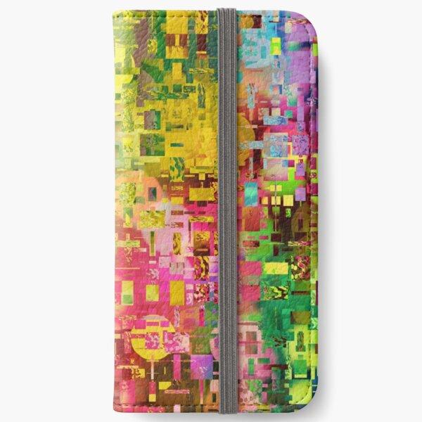 Crazy World iPhone Flip-Case