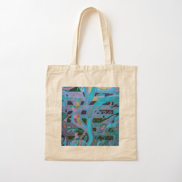 Hexagram 8: Pi (Union)  Cotton Tote Bag