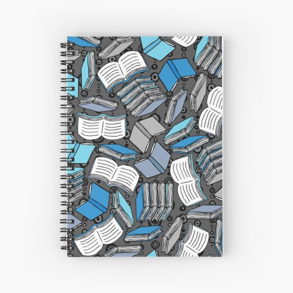 So Many Books... Spiral Notebook