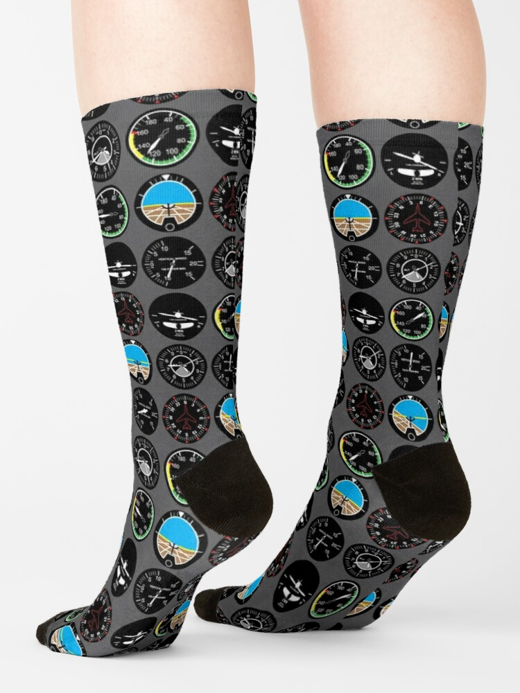 Alternate view of Flight Instruments Socks