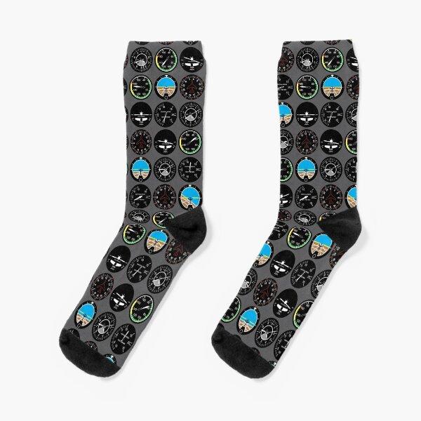Flight Instruments Socks