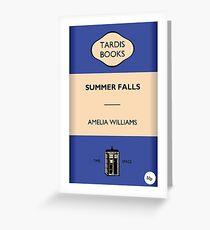 Summer Falls Greeting Card