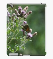 Butterfly in Silhoutte iPad Case/Skin