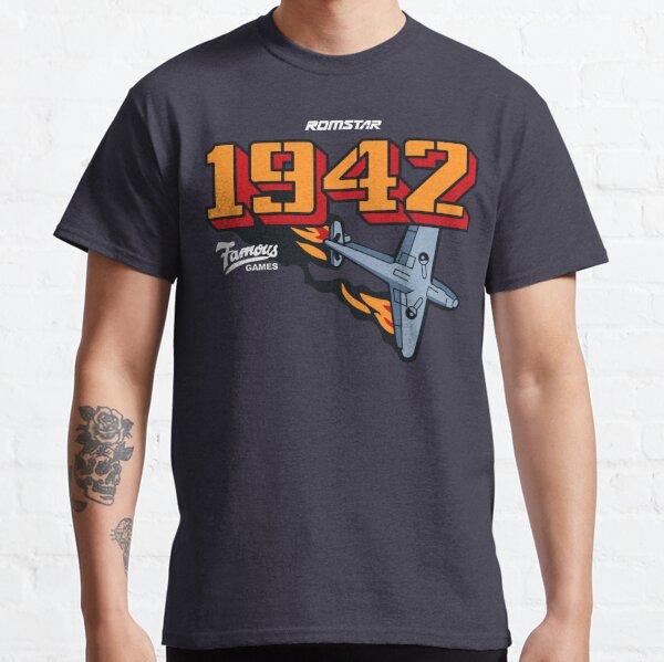 1942 retro vintage arcade Classic T-Shirt
