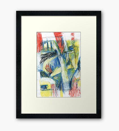 speed 100 Framed Print