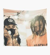 Suicide boys ruby and Scrim photo Tapestry