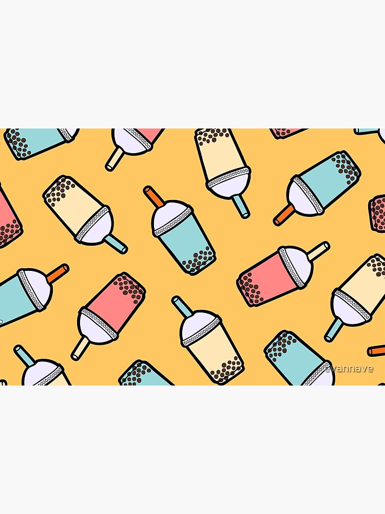 Bubble Tea Pattern by evannave