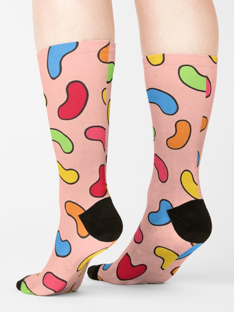 Alternate view of Jelly Beans Pattern Socks