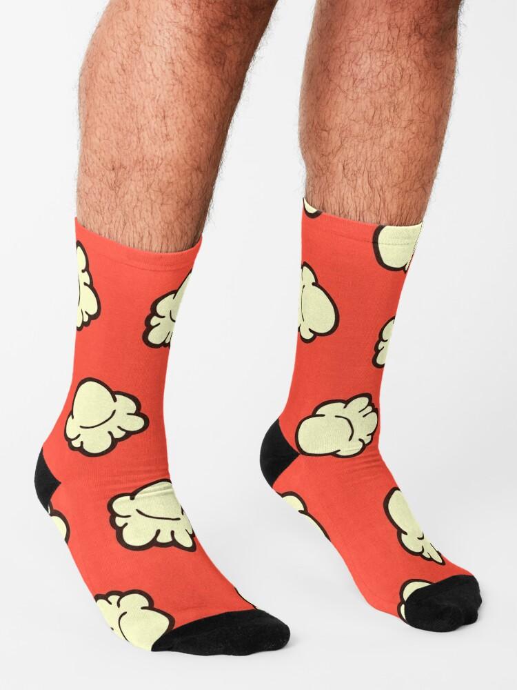 Alternate view of Popcorn Pattern Socks