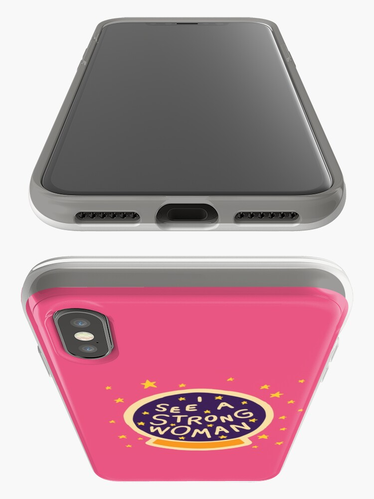 Alternate view of I see a strong woman iPhone Case & Cover