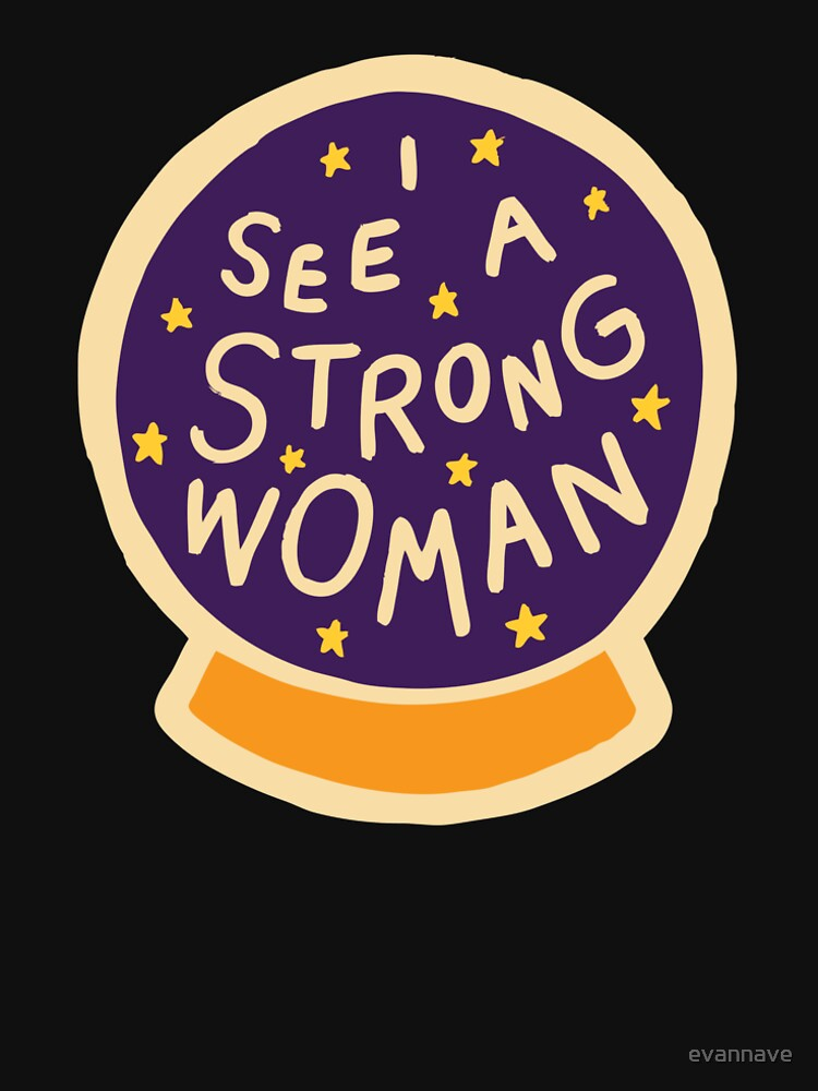 I see a strong woman by evannave