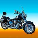 2005 Harley Davidson Fat Boy by Bryan D. Spellman