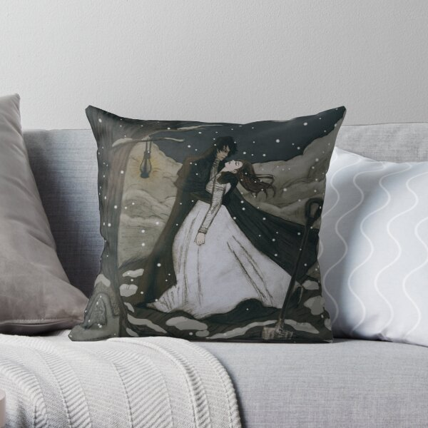 Copy of It's All Coming Back to Me Now... // colored Throw Pillow