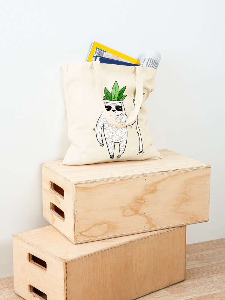 Alternate view of King of Sloth Tote Bag