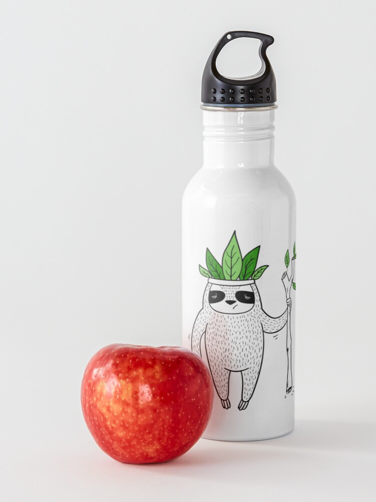 Alternate view of King of Sloth Water Bottle