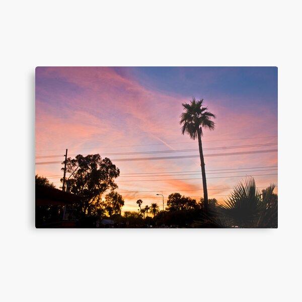 Tempe Sunset 1 Metal Print