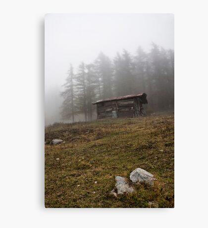 ~ la cascina in montagna ~ Canvas Print