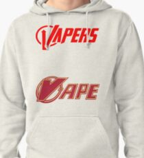 vapor sticker 2 pack Pullover Hoodie