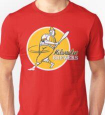Retro Vintage Milwaukee Brewers T-Shirt