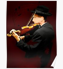 The Lonely Violinist Poster