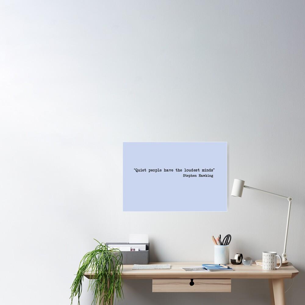 Quiet People Poster