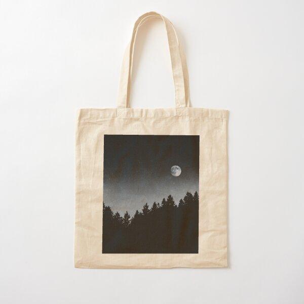 Under Moonlight Cotton Tote Bag