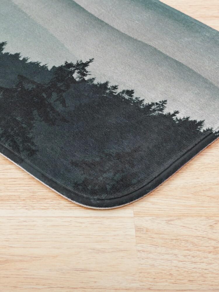 Alternate view of Mountain Light Bath Mat