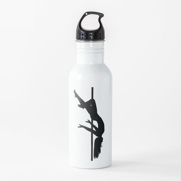Diseño de pole dance Botella de agua