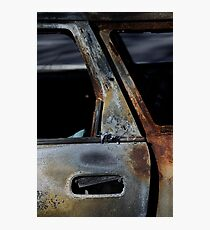 After The Fire, Rust 1. Photographic Print