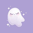 Cute Ghost by doodlecarrot