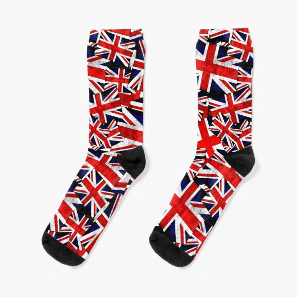 Union Jack British England UK Flag  Socks