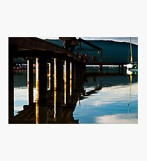 Wharf Photographic Print