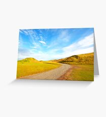 Heaven and Earth embrace Greeting Card