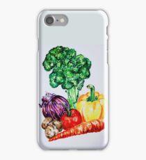 Vegetables Watercolour Artwork iPhone Case/Skin