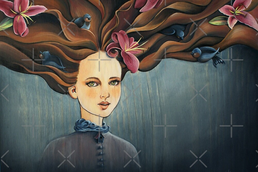 Lucinda by Sarah  Mac Illustration